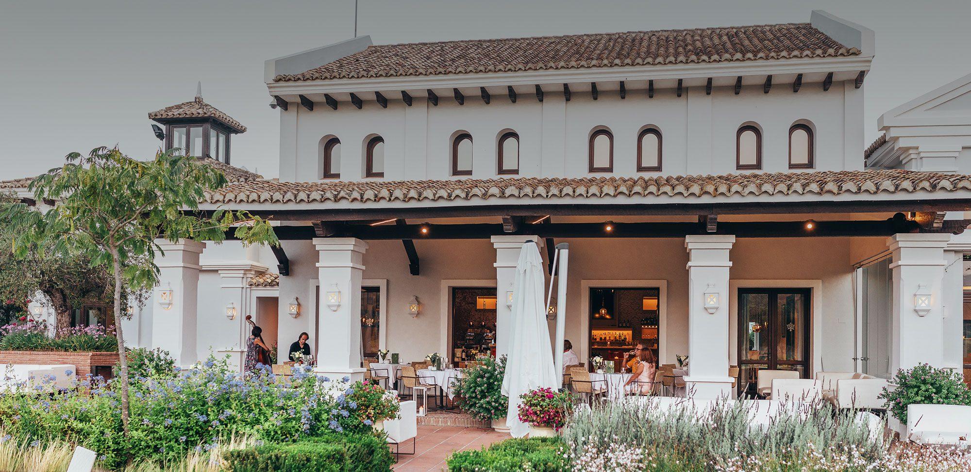 Restaurante de la casa Club Sotogrande