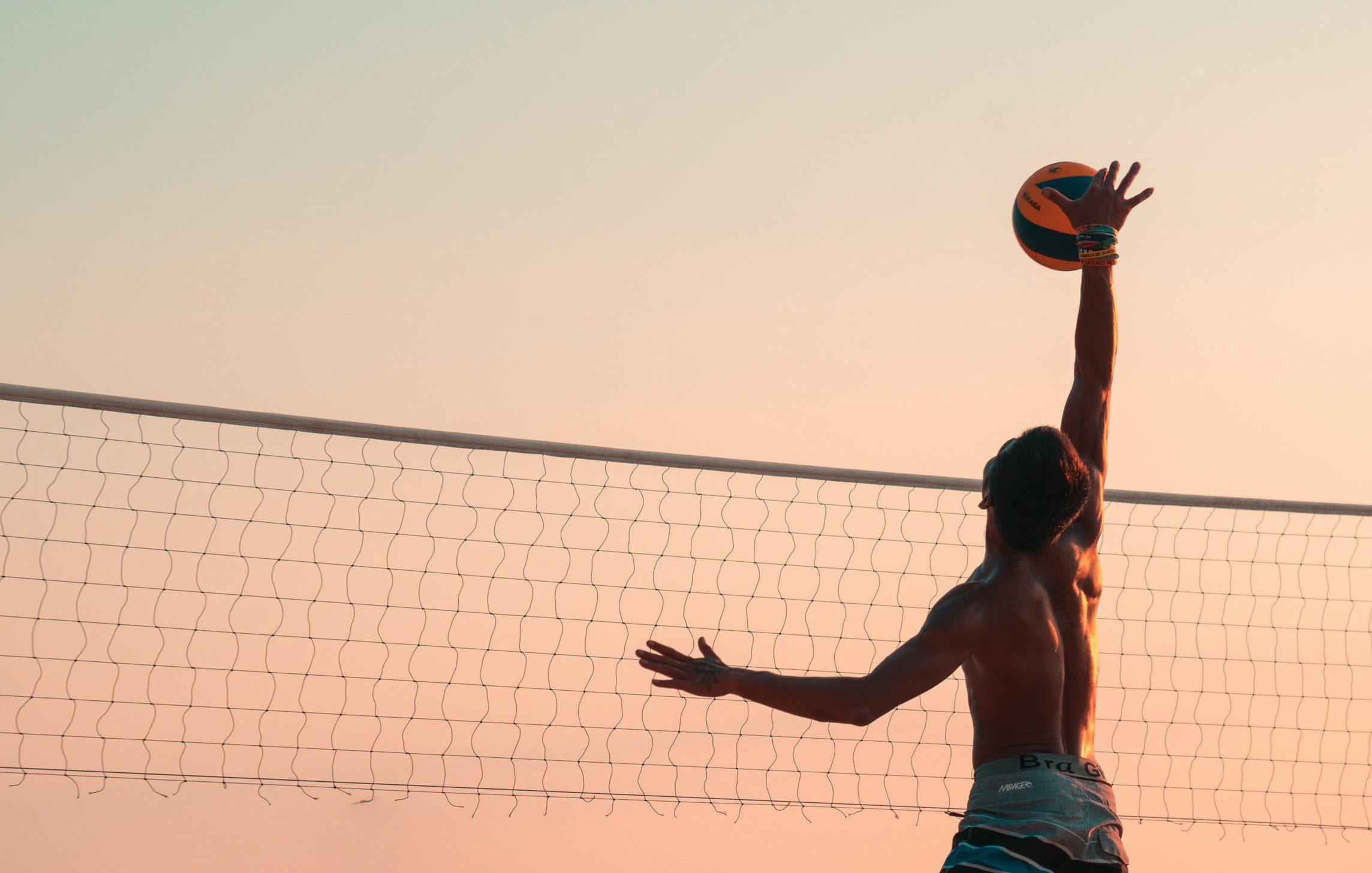 1 Beach Volleyball Court
